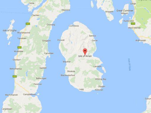 Arran, Scotland - Google Maps