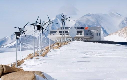 The Arctic Institute Glacier, Antarctica