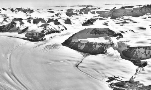 The Beardmore Glacier, Antarctica