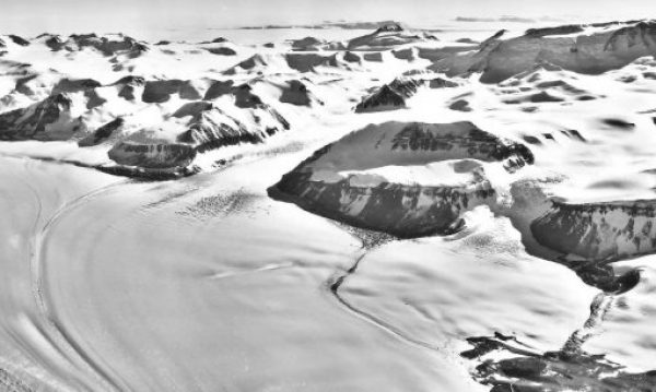 The Beardmore Glacier, Antarctica
