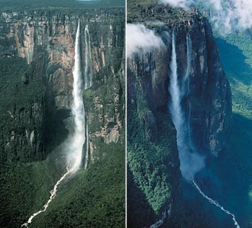 Tres Hermanas Falls, Peru