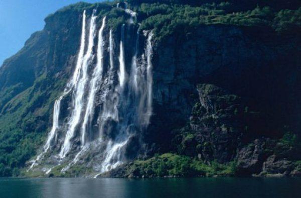 Vinnufossen Falls, Norway