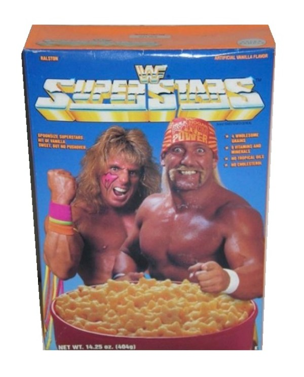 WWF Superstars Cereal