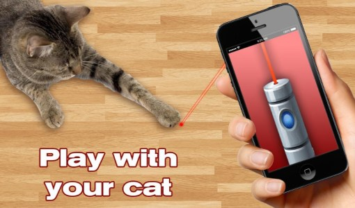 Laser For Cats App Prank