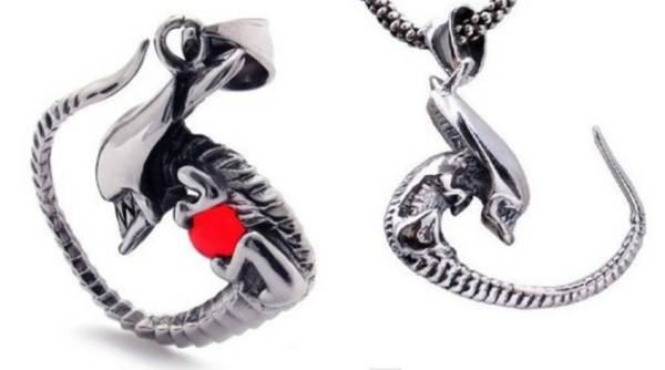 Alien Necklace Pendants