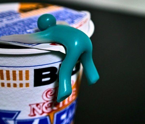 Ramen Noodle Cupmen Figure Set