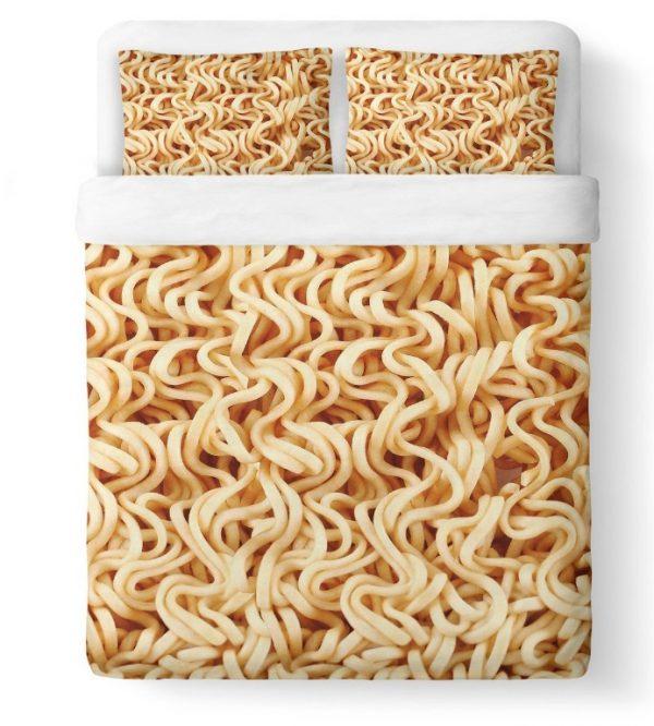 Ramen Noodle 3D printing Duvet Cover Set