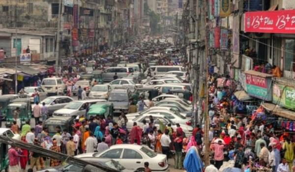 Bangladesh Population Density