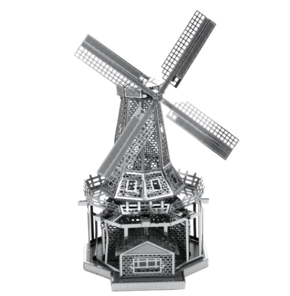 Windmill Metal Model Building Kit