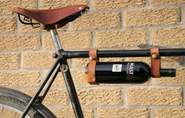 Wine Bottle Carrier Cage for Bicycle