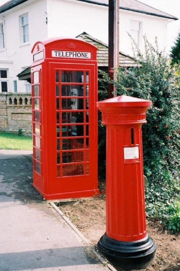 Pillar Box in Mudeford, Dorset