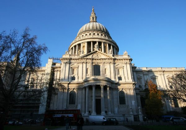 Old St Paul's Cathedral, UK