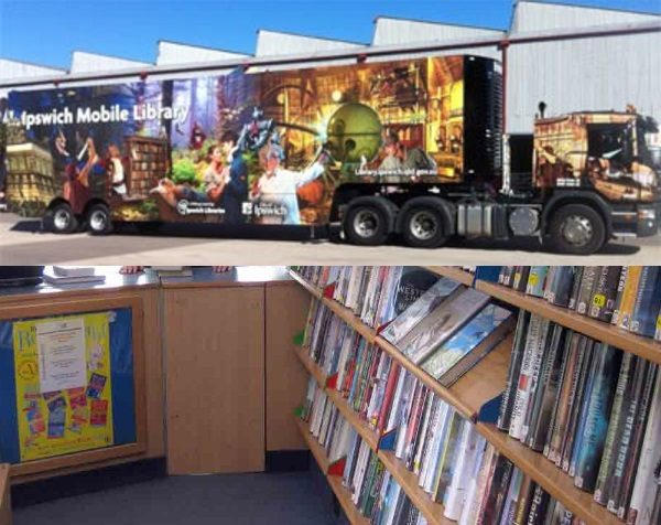 Mobile Library Truck