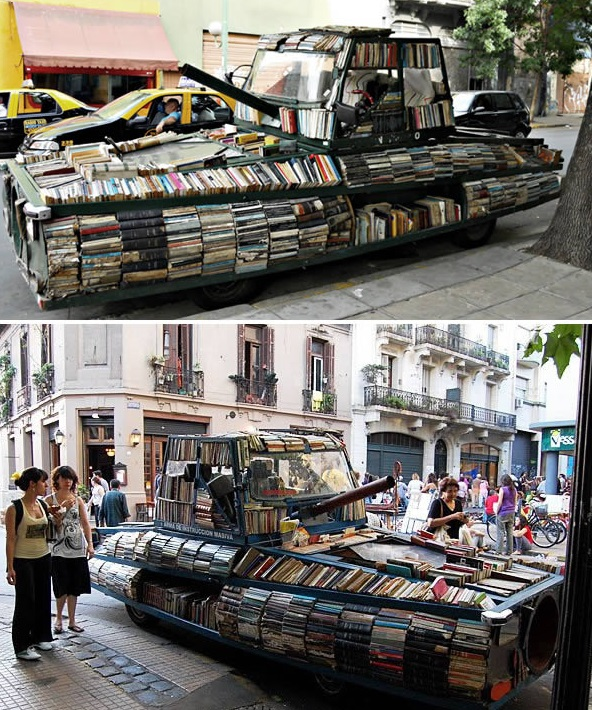 Mobile Library Tank