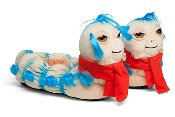 Jim Henson's Labyrinth: 'Ello Worm Slippers