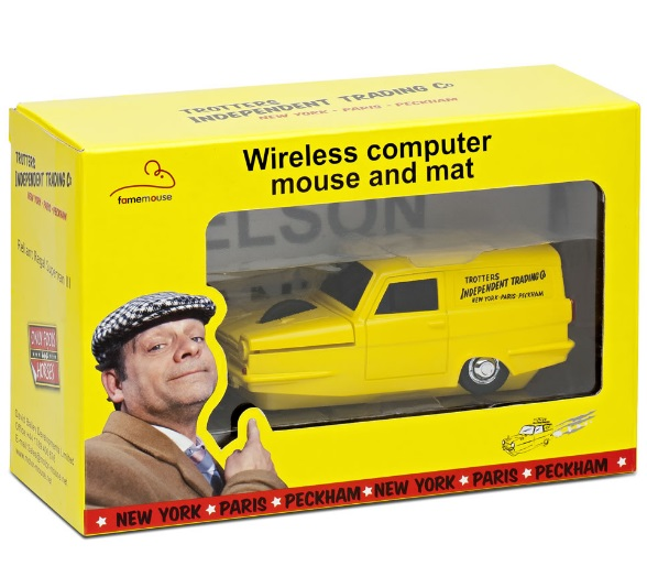 Only Fools and Horses' Trotters Van Wireless Computer