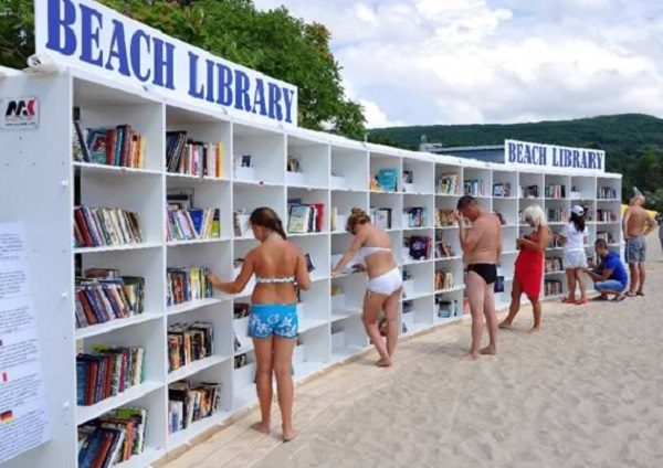 The Beach Library, Albena