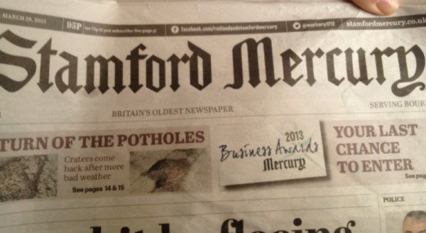 The Stamford Mercury Newspaper