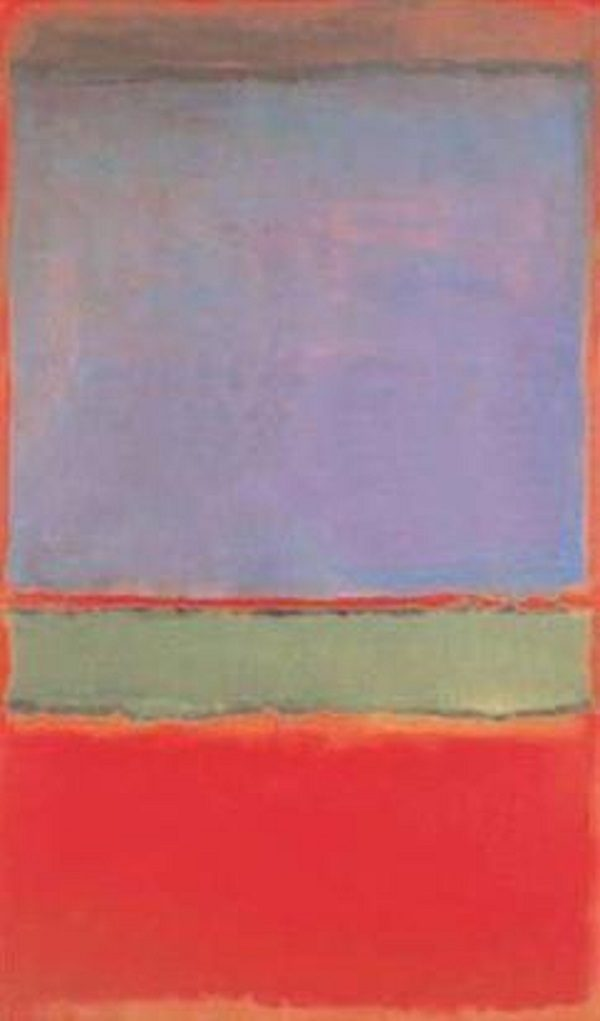 No. 6 by Mark Rothko