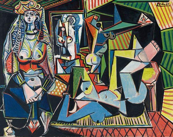 Les Femmes d'Alger by Pablo Picasso
