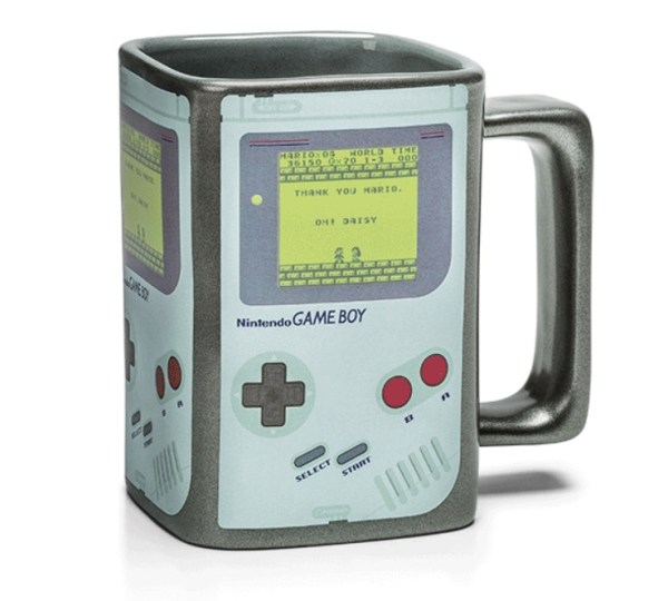 Game Boy Heat Changing Coffee Mug