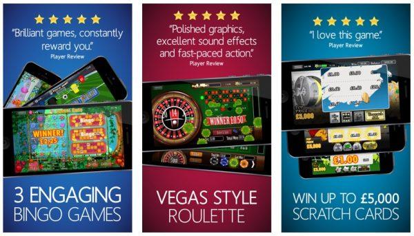 Casino Cash - Slots, Bingo, Roulette, ScratchCards