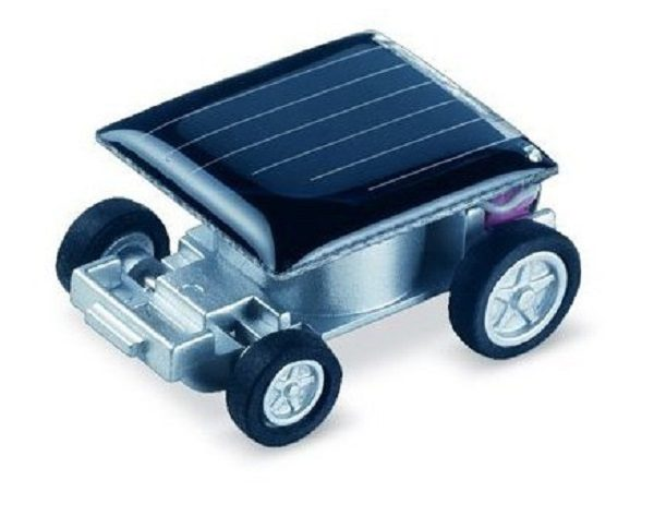 The world's Smallest Solar Powered Car