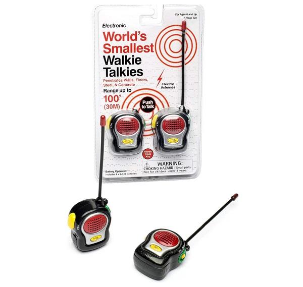 The world's Smallest Walkie Talkies