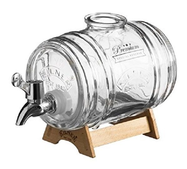 Kilner Barrel Shaped Whisky Decanter