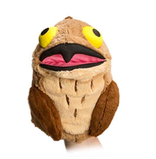 Potoo Plush Derp Owl Hand Puppet