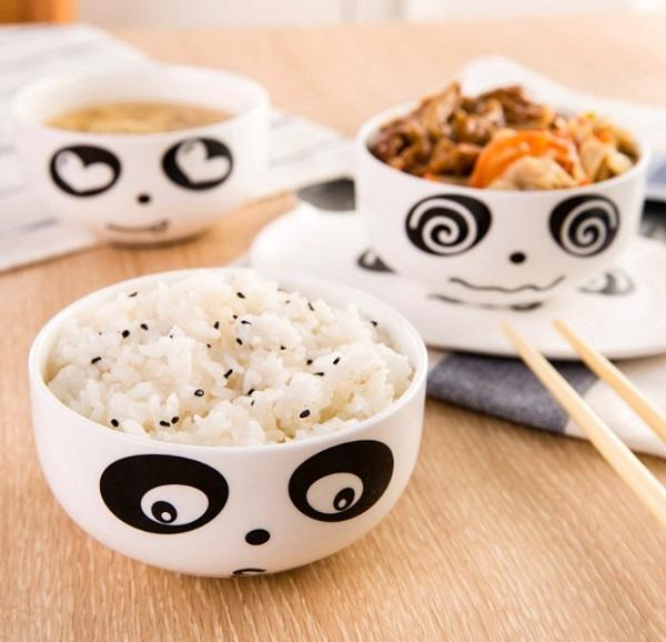 Ceramic Panda Bowls
