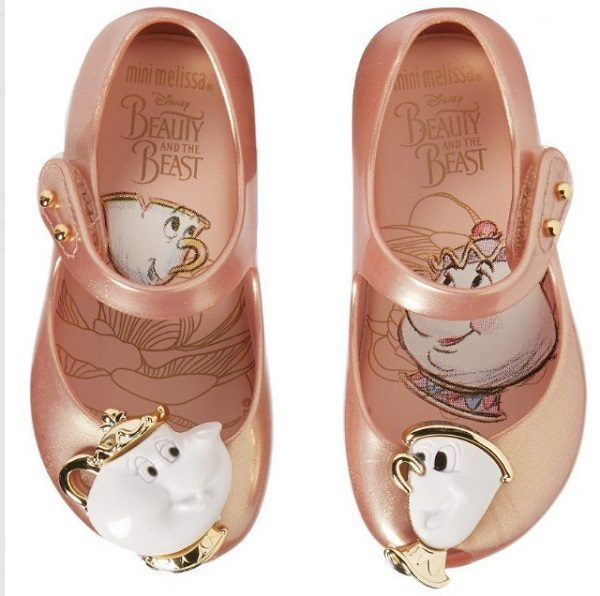 Beauty and the Beast Rose Shoes