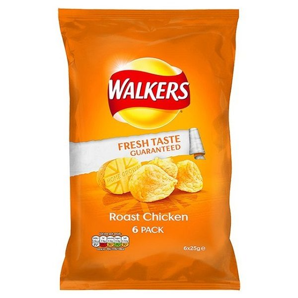 Chicken Flavoured Crisps