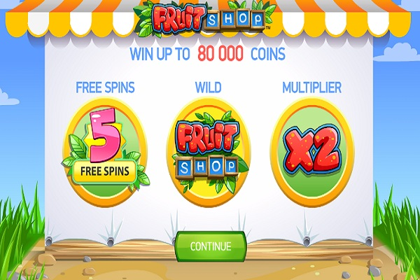 Fruitshop Slot Game