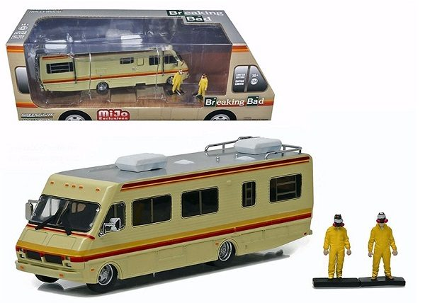 Breaking Bad RV Diorama with 2 Figures