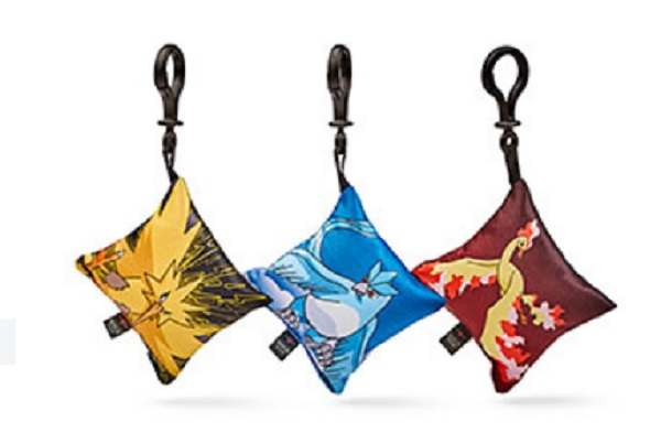 Legendary Bird Pokémon Pillow Danglers