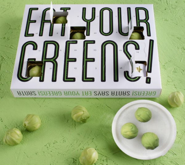 'Eat Your Greens ' Chocolate Sprout Advent Calendar