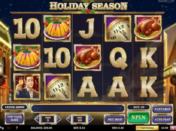 Holiday Season - Slot Game