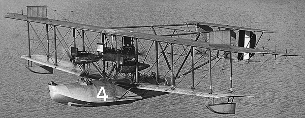 Curtiss flying boat NC-4