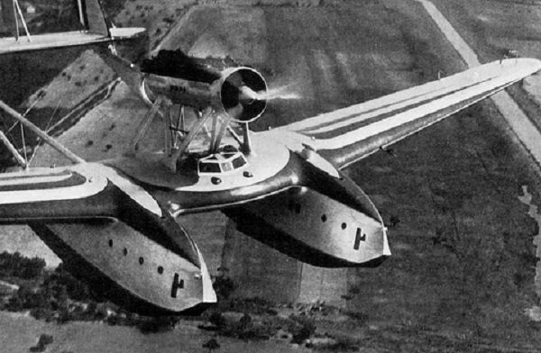 Savoia-Marchetti s.55 flying-boat
