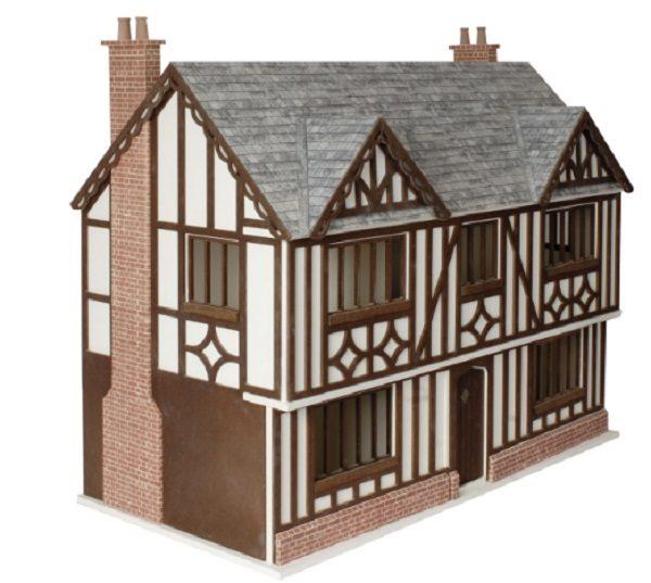Charles II oak baby house on stand