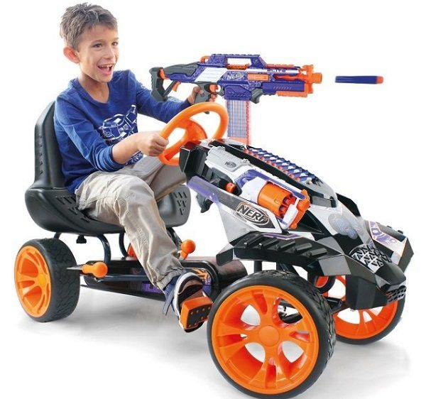 Nerf Battle Racer Ride-on Go-Kart