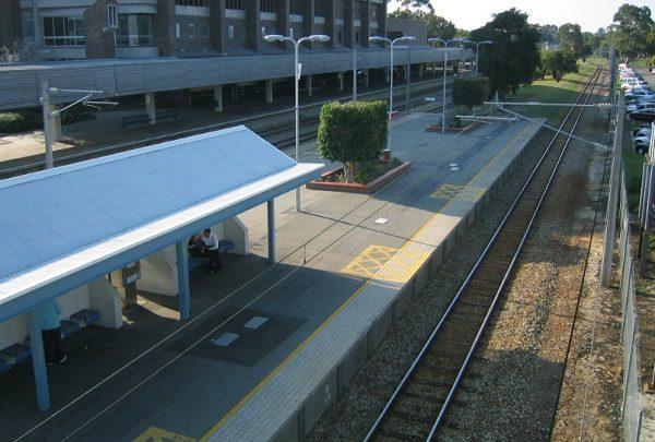 East Perth railway station