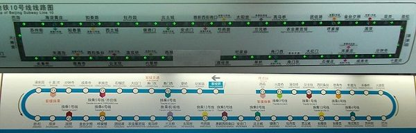 Beijing Subway Line 10, China