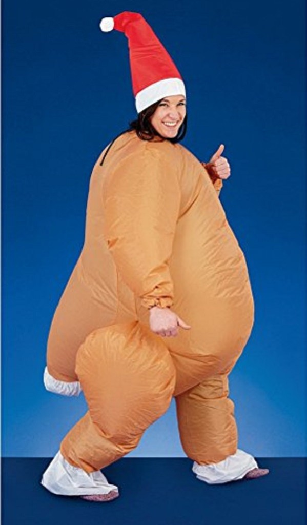 Novelty Inflatable Turkey Suit