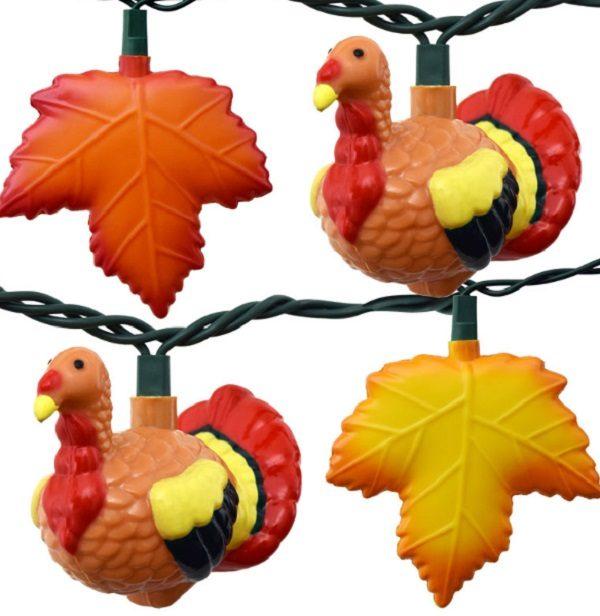Novelty Turkey Sting Lights