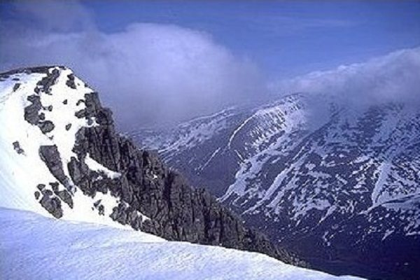 Braeriach Mountain in Scotland