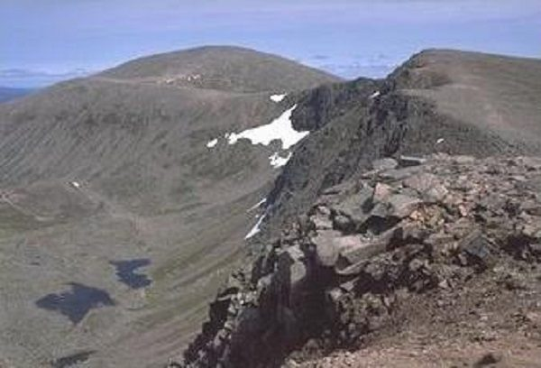 Cairn Gorm Mountain in Scotland