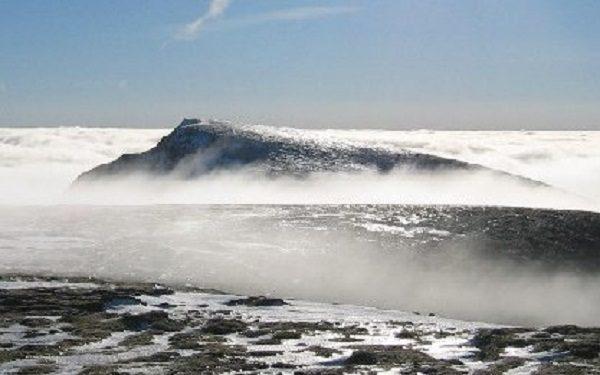 Aonach Beag Mountain in Scotland