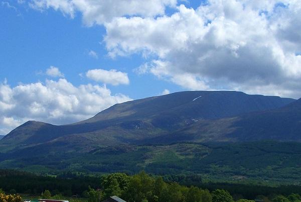 Aonach Mòr Mountain in Scotland